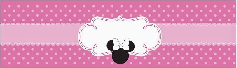 Minnie Mouse Sweet Free Printable Party Kit Oh My