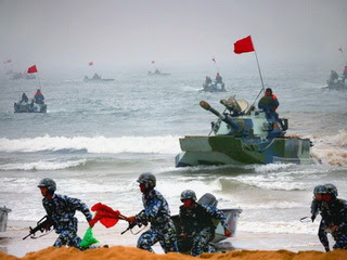 China (Chinese People's Liberation Army) military exercises