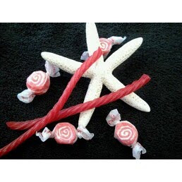 RED LICORICE TAFFY...Yum!!!