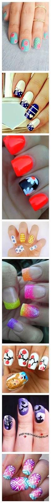 Nail Art Ideas Tutorials...