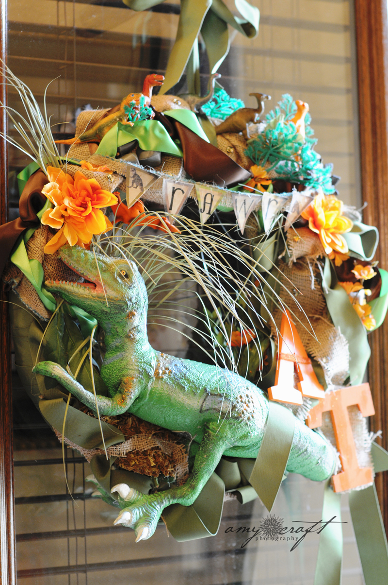 Kara S Party Ideas Rustic Dinosaur Twins Birthday Party