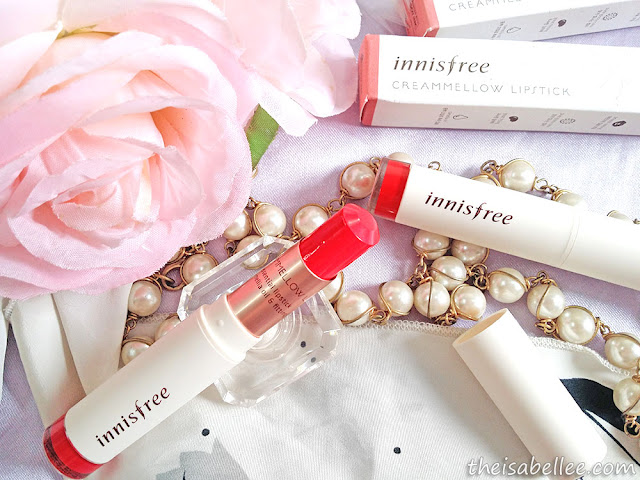 Innisfree Creammellow Lipstick Sweet Peach Butter review