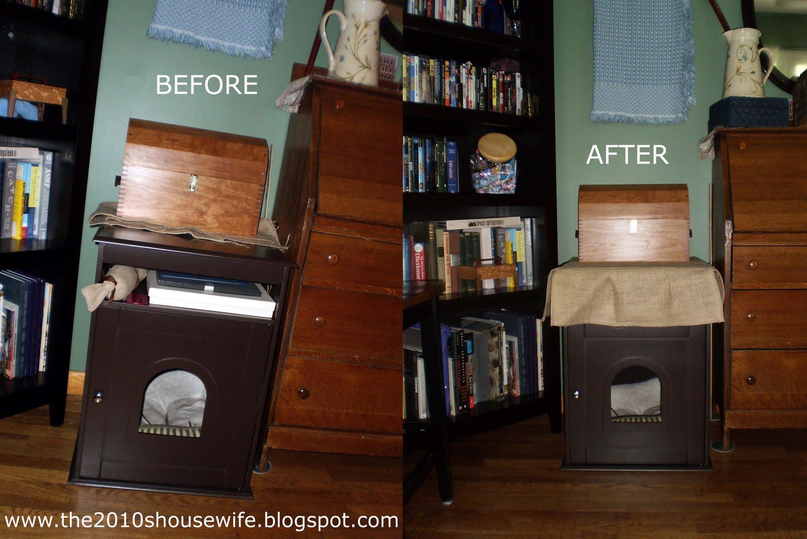 Litter Box Small Apartment - Interior Design