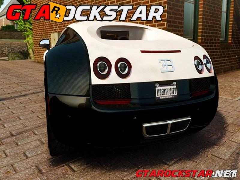 gta iv bugatti veyron 16 4 super sport 2011 pur blanc epm gta rockstar os melhores mods. Black Bedroom Furniture Sets. Home Design Ideas