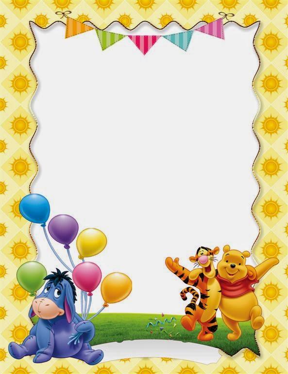 Winnie Pooh marco - Imagui
