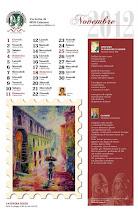 Calendario 2012 Novembre