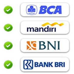 Bank Transfer tersedia