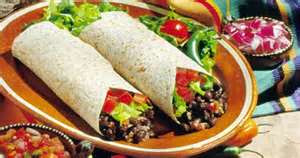 burritos vegetarianos receta mexicana