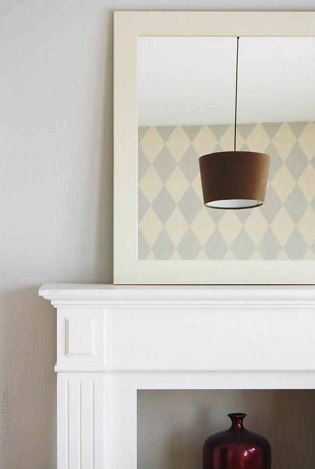 Un dormitorio estilo french chic hampton sc - Embocadura chimenea ...