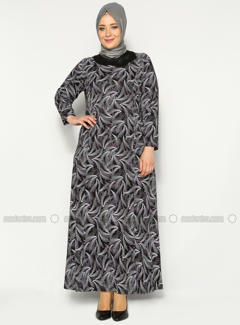 10 Contoh Model Baju Muslim Untuk Orang Gemuk