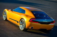 Kia GT4 Stinger Concept (2014) Rear Side