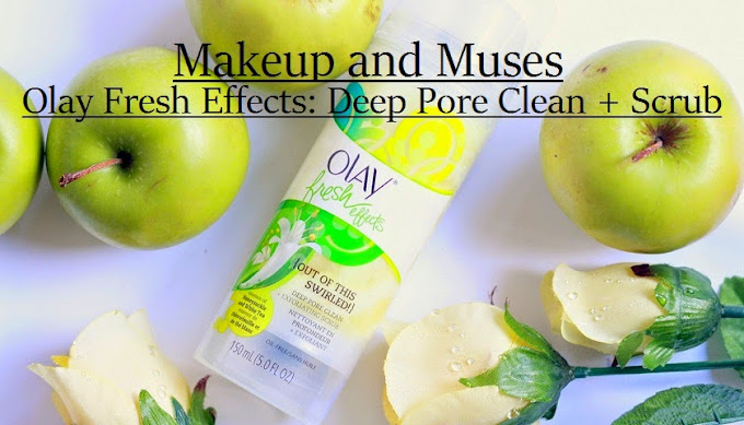 olay deep pore clean exfoliating scrub