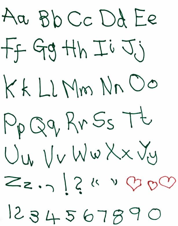 Reading Handwriting