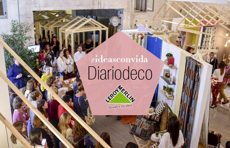 ¡Diariodeco viaja a Madrid! #ideasconvida con Leroy Merlin1