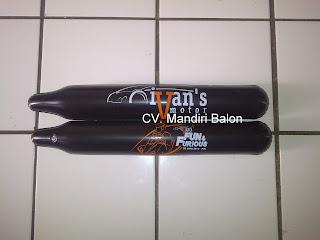 BALON SUPORTER Logo IVAN'S MOTOR