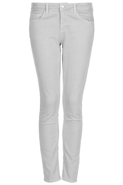 pale grey jeans