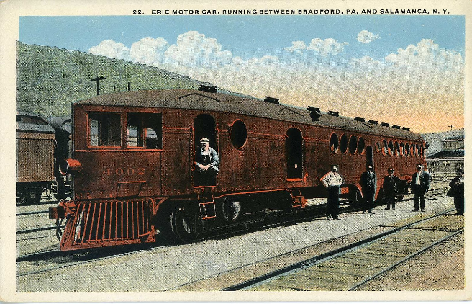 The National Railroad Postcard Museum The Erie Railroad In History Photographs And Postcards