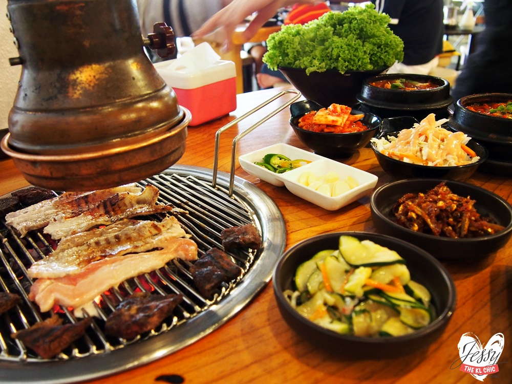 food huo lu ai korean bbq setiawalk puchong jessy the kl chic malaysia food fashion. Black Bedroom Furniture Sets. Home Design Ideas