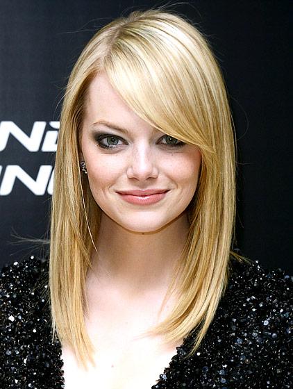 Emma Stone's Blonde Hair