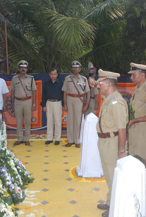 Police Commemoration Day 2011 PHQ Panaji, Goa