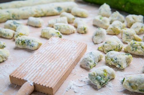 Zucchini Ricotta Gnocchi