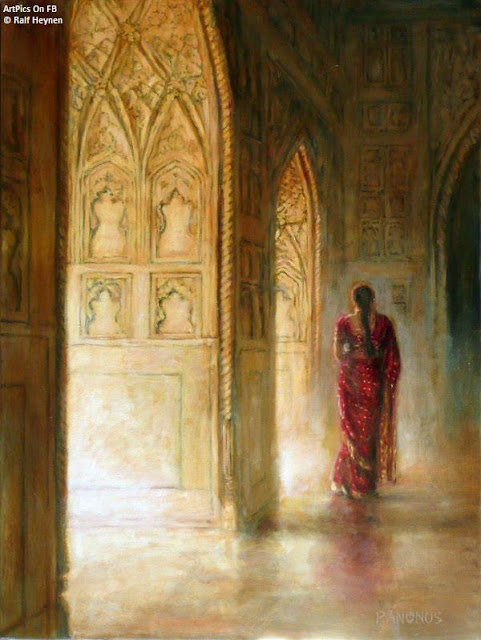 Ralf Heynen painting