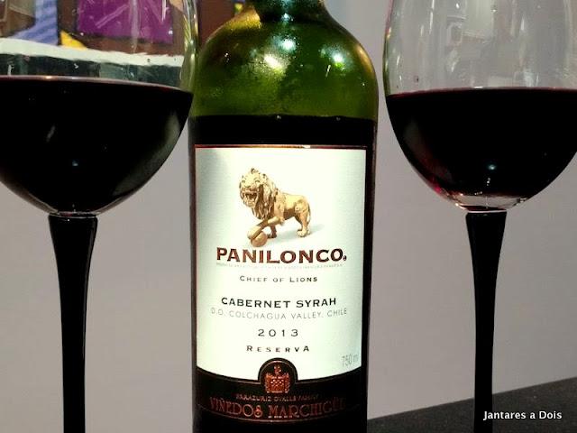 Panilonco Cabernet Sauvignon e Syrah 2013
