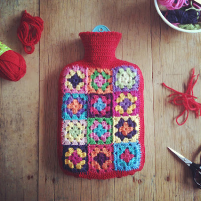 Ruby Murrays Musings: Crochet: Granny Rectangle Hottie