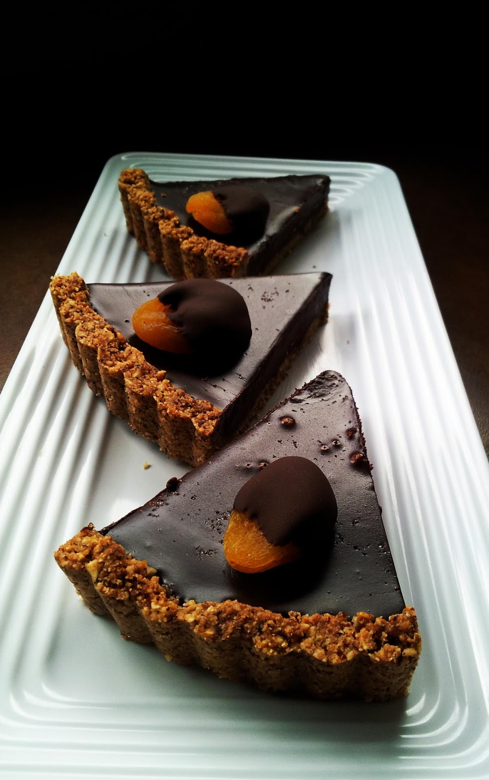 Profound Hatred of Meat: Apricot & Salt Chocolate Tart