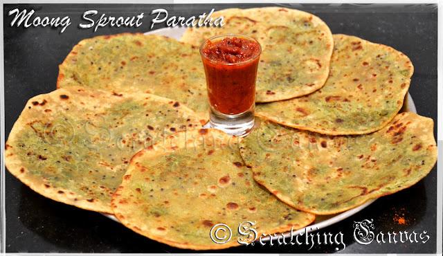 Moong Paratha