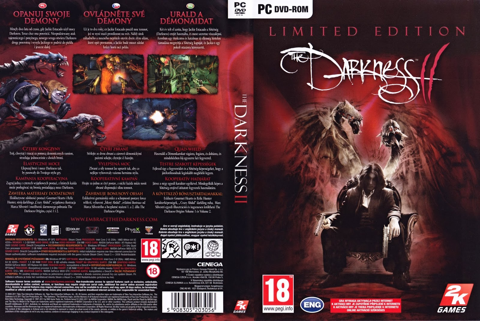 The Darkness II Limited Edition Direct Download