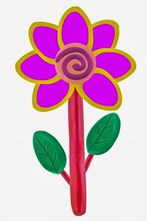 NAMC Montessori modeling dough multi sensory work play dough flower