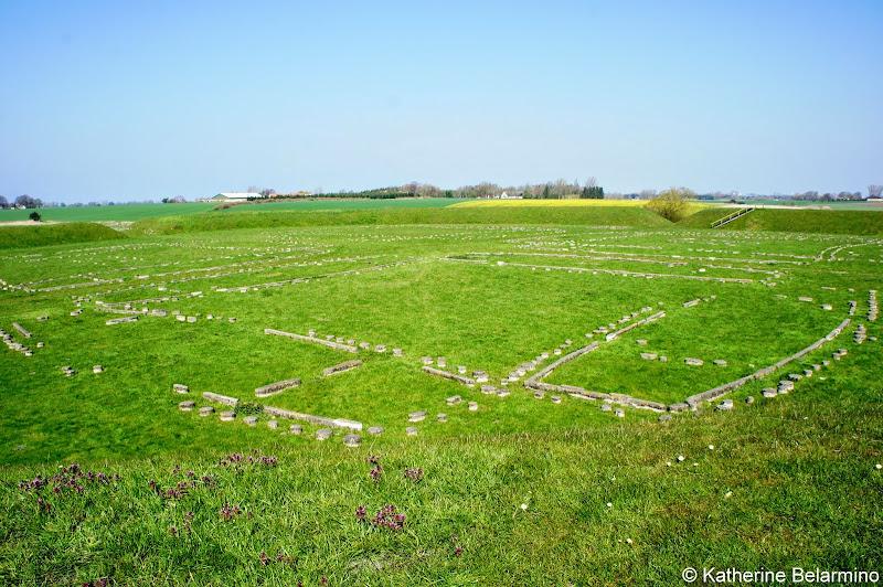Trelleborg Viking Ring Fortress Denmark