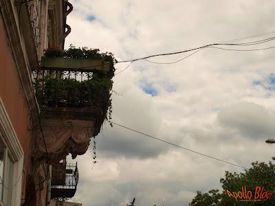 Balcon vechi
