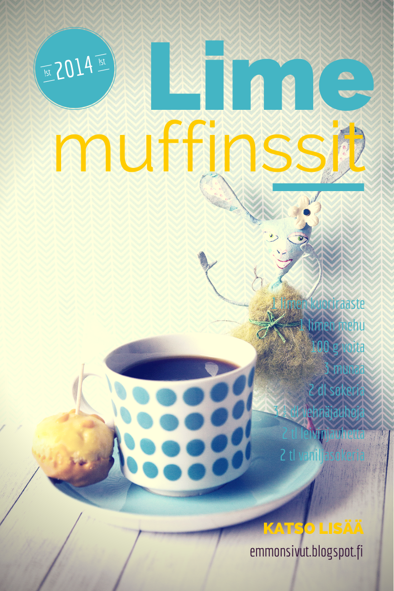 Leivonta, muffinssit, minimuffinssit, muffinssiohje