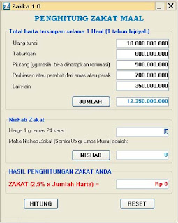 Software Zakat Maal