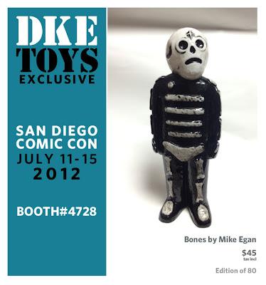 San Diego Comic-Con 2012 Exclusive Bones Vinyl Figure by Mike Egan