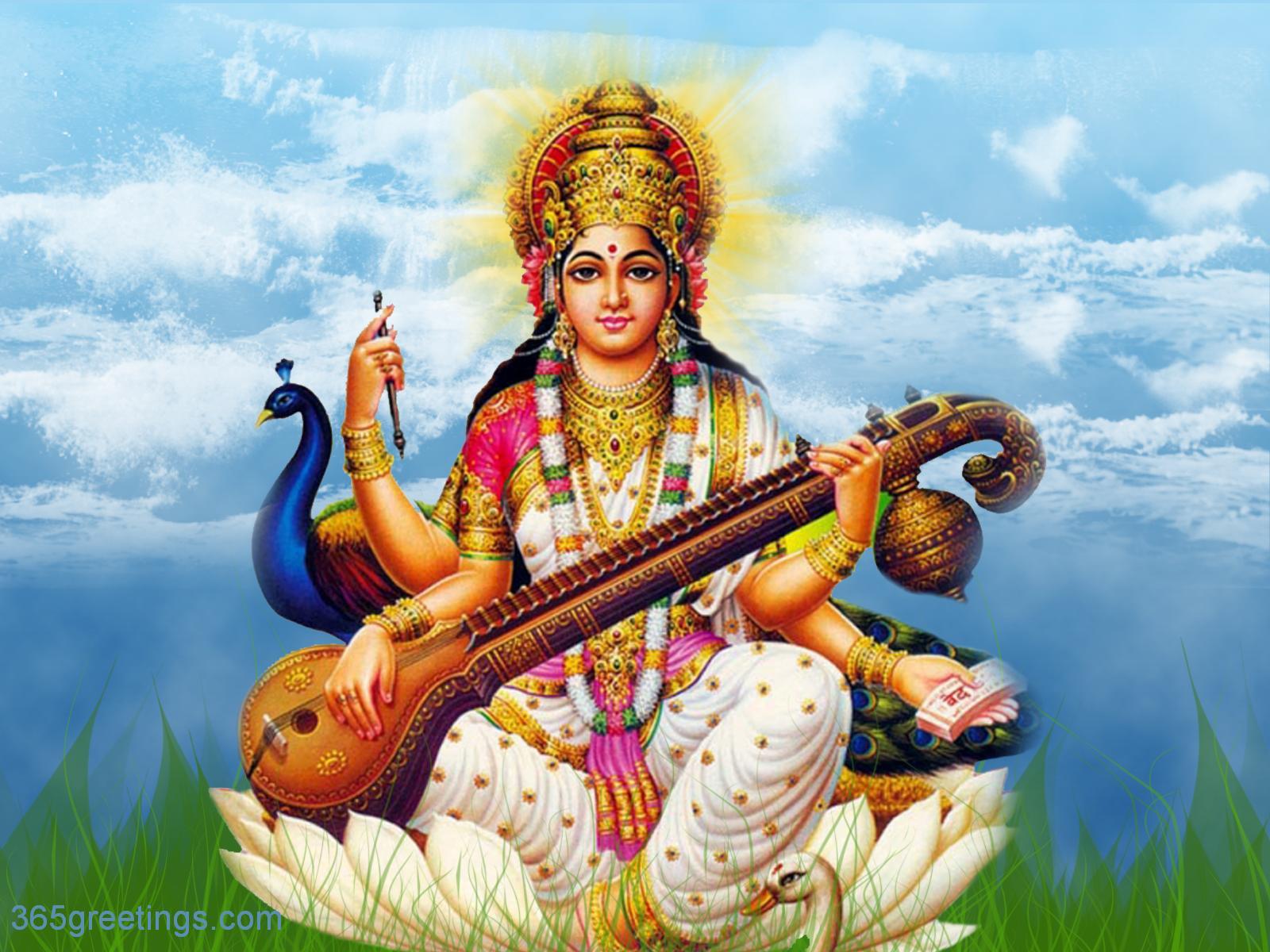 God Wallpaper GOD Wallpapers Saraswati