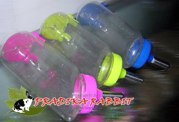 Botol minum 500ml untuk Kelinci, Kucing dan Anjing aneka warna