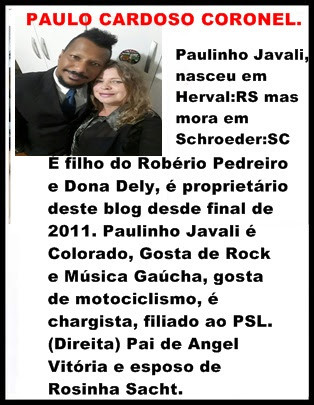 O PROPRIETÁRIO DO BLOG.