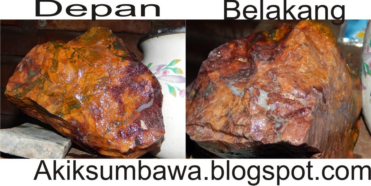 Batu Bacan Panca Warna Khas Sumbawa
