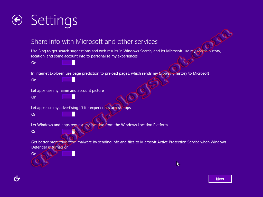 Formatting a computer and Installing Windows 8.1