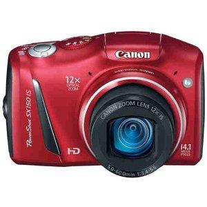 Canon PowerShot SX150 red