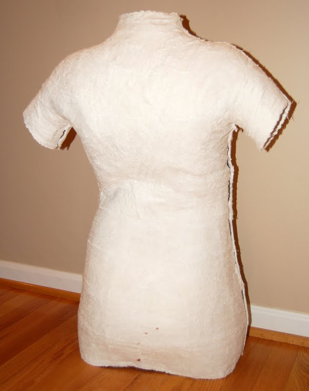 how to make a dress form of yourself