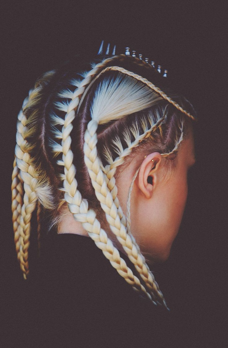 Cornrow braids with roots - Rebel66 Blog