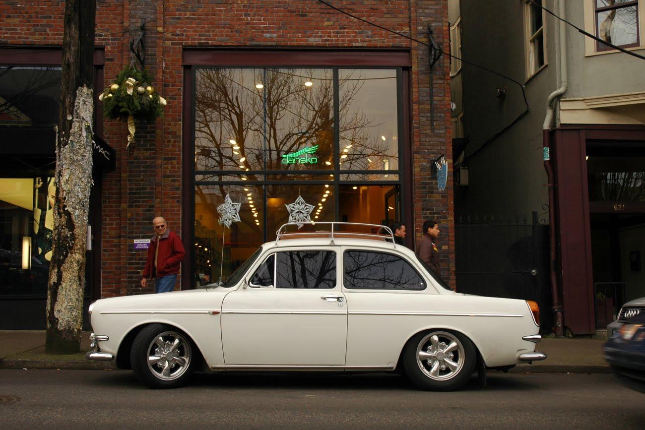 Old Parked Cars   1965 Volkswagen Type 3 Notchback