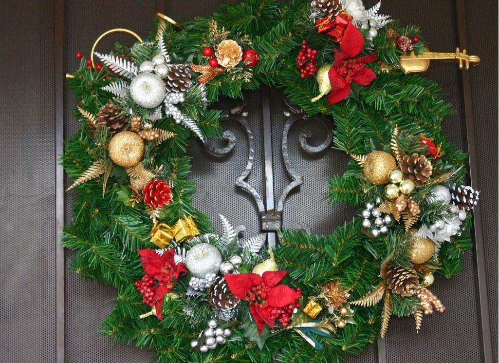 Coronas de navidad coronas de navidad banco de - Coronas de navidad para puertas ...