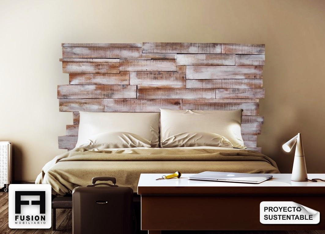 respaldos para camas fusion mobiliario