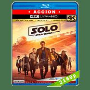 Han Solo: Una historia de Star Wars (2018) 4K UHD Audio Dual Latino-Ingles