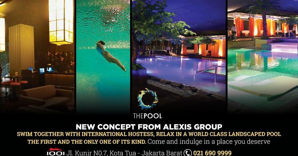 The Sexy Pool At 1001 Hotel Bikini Party